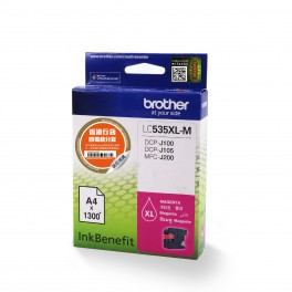 Brother LC535XL-M Magenta Ink Cartridge-0