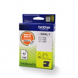 Brother LC535XL Y Yellow Ink Cartridge -0