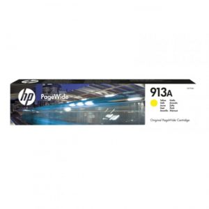 HP 913A Yellow Original PageWide Cartridge (F6T79AE)-0
