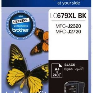 Brother LC679XL Black High Yield Ink Cartridge-0